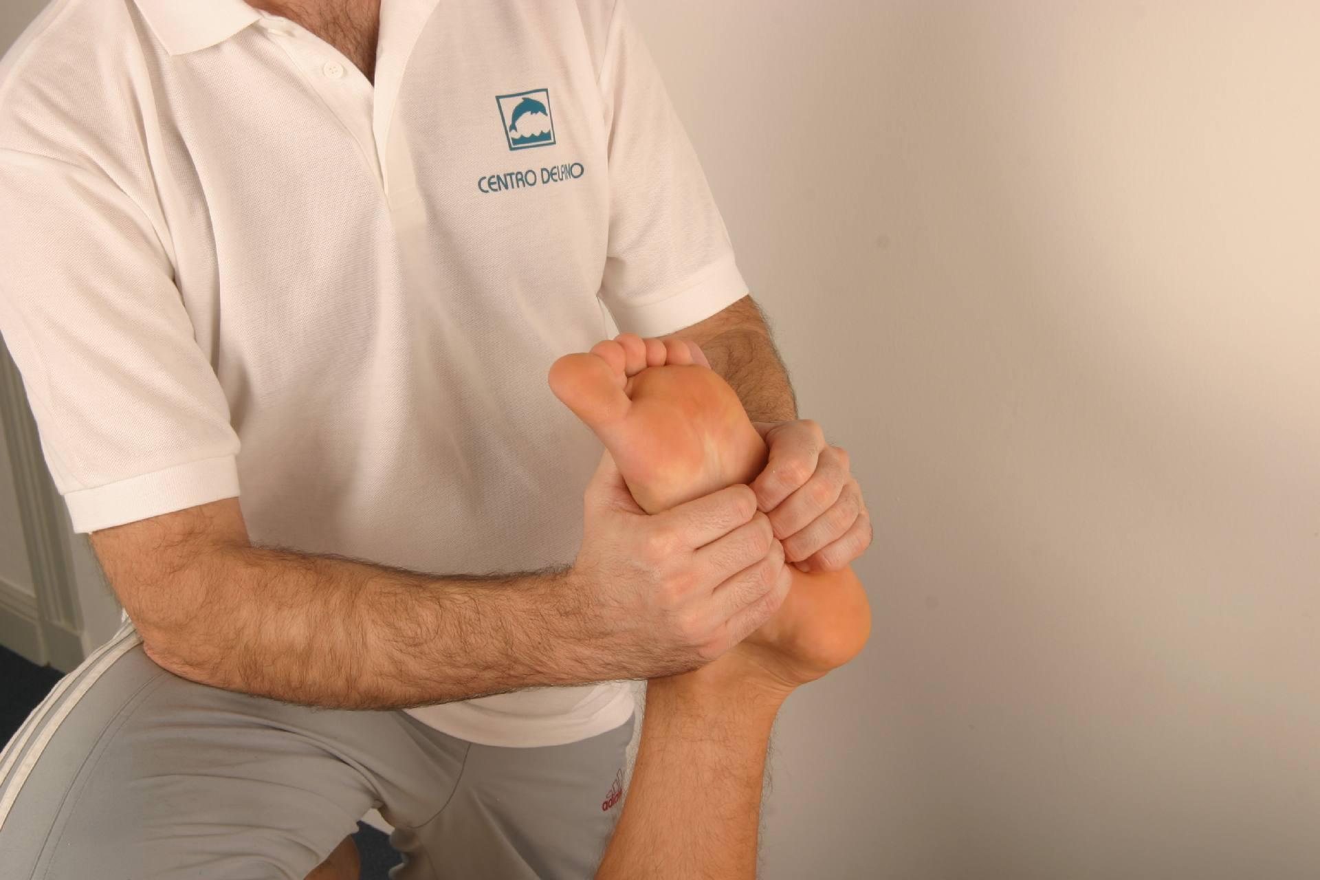 Fußmassage Sportmassagetherapeut