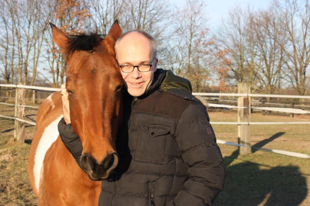 Stefan Ide mit Pferd
